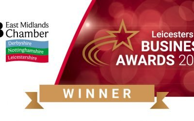 db and Premier Bowl Feeders delighted to win Leicestershire Business of the Year award